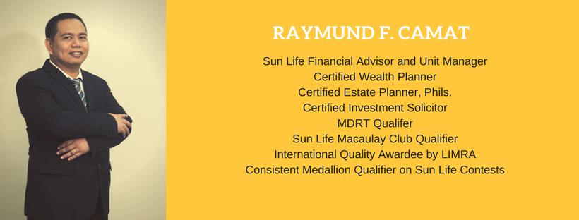 Raymund camat sun life advisor